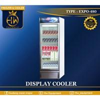 Mesin Pendingin Minuman/ Pemajang Minuman No Frost sistem tipe EXPO-480