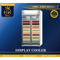Mesin Pendingin Minuman / Pemajang Minuman tipe EXPO-800AH/CN