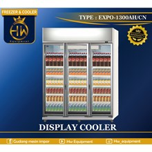 Display Cooler Beverage type EXPO-1300AH / CN
