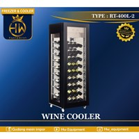 Wine Cooler Single Zone Temperature type RT-400L-2