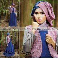 Baju Maxi Anggia Dan Pashmina R744 1