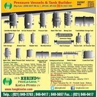 Jual Pressure Vessel Tank Indonesia CV. KARYA PENTA PRESSURETANK.CO.ID 0813 1085 0038 info@pressuretank.co.id 2