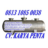 Distributor Pressure Vessel Indonesia Harga Tank Manufacturer 0813 1085 0038 CV. KARYA PENTA info@pressuretank.co.id  www.PRESSURETANK.CO.ID  3