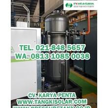 Pressure Tank 2000 Liter - Harga Pressure Tank 2000 Liter - Air Receiver Tank 2000 liter 1500 liter PENTA TANK