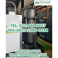 Pressure Tank 2000 Liter 10 Bar Harga Jual HERINDO PENTA TANK