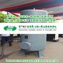 Pressure Tank Jakarta - Air Receiver Tank 1000 Liter - Tangki Angin 1000 Liter HERINDO PENTA TANK
