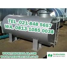 Tangki Solar 5000 Liter - Tangki BBM 5000 Liter - Tangki Genset 5000 Liter