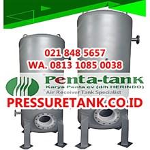 Tangki Kompresor Angin 2000 Liter - Air Receiver Tank 2000 Liter - Jual Pressure Tank 2000 Liter
