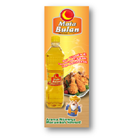 Mata Bulan Cooking Oil Plastic Bottles 1 L 1