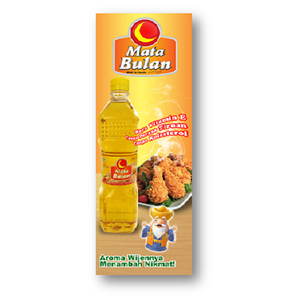 Mata Bulan Cooking Oil Plastic Bottles 1 L