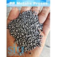 Biji plastik (polypropylene) pp metalis super