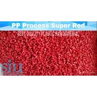 Biji plastik (polypropylene) pp merah cabe super