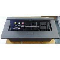 Jual Multifunction Outlet Stopkontak Bfl 888-1 A V Hitam