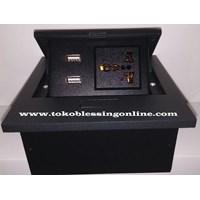 Multifunction Outlet Stopkontak Bfl 888-21 Hitam 1