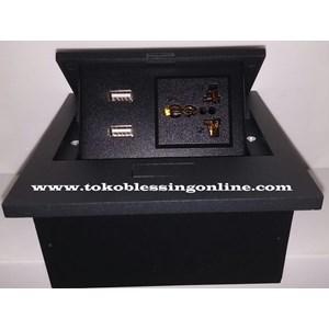 Multifunction Outlet Stopkontak Bfl 888-21 Hitam