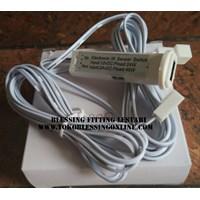 Led Motion Sensor  Swich Bfl 8888 Rectangular White Plastic 1