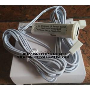 Led Motion Sensor  Swich Bfl 8888 Rectangular White Plastic