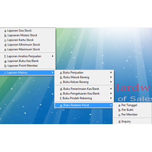 Software Point Of Sale - Program POS By CV. Rcs