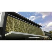 Aluminium Composite Panel Motif keren
