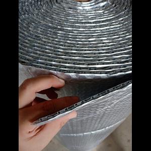 Dari aluminium foil woven dan buble  2