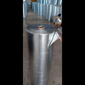 Dari aluminium foil woven dan buble  0