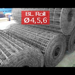 Wiremesh M4 5 6 Roll panjang 54 mtr