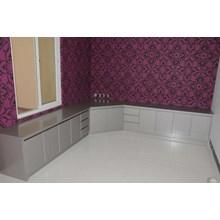 Aluminium Composite Panel Kitchen Set 1