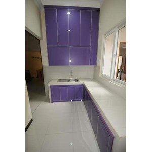 Sell kitchen set 2 aluminium composite panel for Toko aluminium kitchen set