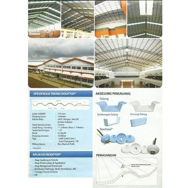 ATAP UPVC ROOFTOP  ALDERON DECK  Roofing