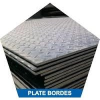 Plat Bordes Satinless Steel