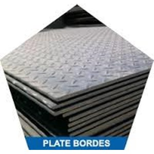 Plat Bordes Satinless Steel dan aluminium