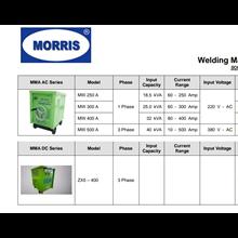 Welding Generator mesin las merk Moris
