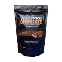 Minuman Susu Tinggi Protein / Wheypro Choklate/ Minuman Suplemen/Whey