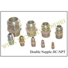Double Nepel JIC-NPT 1
