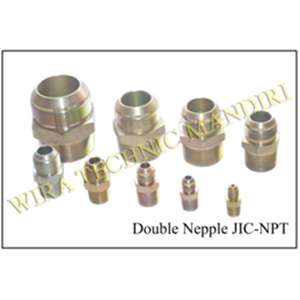 Double Nepple JIC-NPT