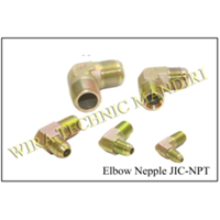 Elbow Nepple JIC-NPT