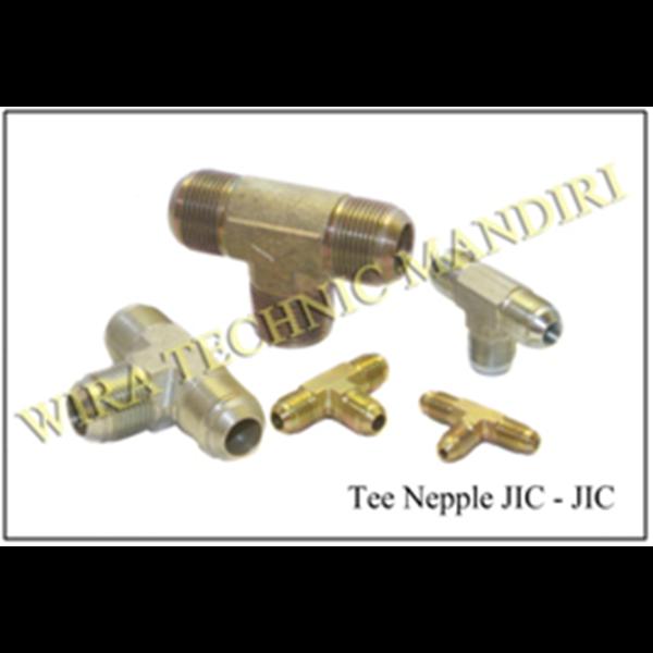 Tee Nepple JIC-JIC