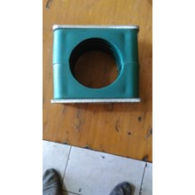 Hydraulic Pipe Clamp 12 mm 1 hole