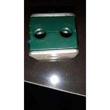 Clamp Pipa Hidrolik 6,4 mm 2 lobang