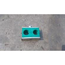 Clamp Pipa Hidrolik 8 mm 2 lobang