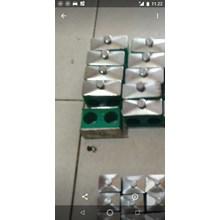 Clamp Pipa Hidrolik 9,5 mm 2 lobang