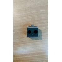 Clamp Pipa Hidrolik 22 mm 2 lobang
