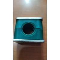 Clamp Pipa Hidrolik 26,9 mm 1 lobang