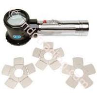 Elecoelcometer 127 Keane-Tator Surface Comparator & Magnifier 1