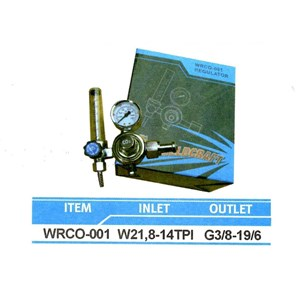 Regulator Weldcraft Superior Wrco-001