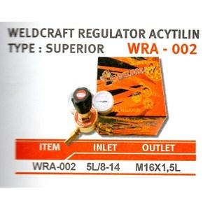 Regulator Weldcraft Superior Wra-002