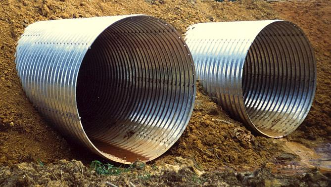 Export Corrugated Steel Pipe Armco From Indonesia By