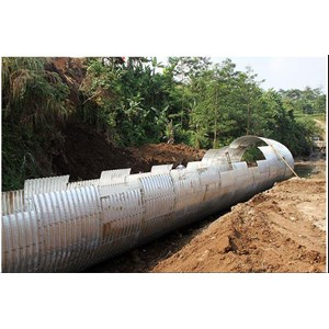 Export Jual Culverts Steel Indonesia