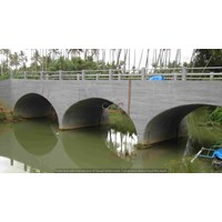 Multi Plate Type Superspan Low Profile Arch