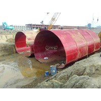 Multi Plate Underpass Dia. 6010 x 6.0 mm